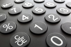 Numeric keypad, close-up Stock Photos