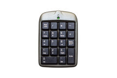 Numeric keypad Royalty Free Stock Photos