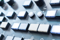 Numeric keypad CNC machine Stock Photo