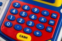 Numeric keypad detail. Cash toys Stock Image