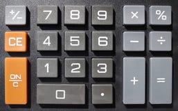 Numeric keys Royalty Free Stock Photography