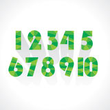 Numeric number Royalty Free Stock Photography