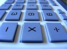 Numeric Operators. Keys, keyboard on solar powered calculator Stock Photography