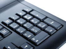 Numeric pad Royalty Free Stock Photography