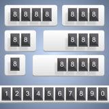 Numeric scoreboard. Vector Stock Photo