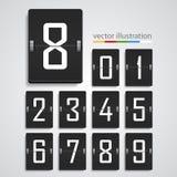 Numeric scoreboard. Vector Royalty Free Stock Photo