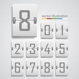 Numeric scoreboard. Vector Royalty Free Stock Photos
