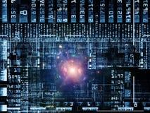 Numeric Technology Links Royalty Free Stock Photos