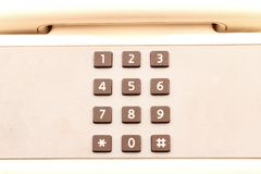 Numeric telephone Stock Images