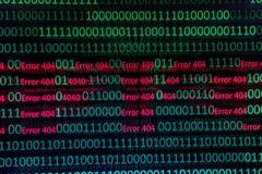 Numerical continuous, abctract data in binary code, give technology felling. stock photos