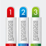 Numerical design Stock Photo