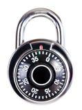 Numerical lock. Isolated on white background Stock Photography
