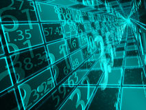 Numerical operations Stock Image