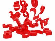Numerical symbols Stock Photos