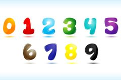 Numerical text Royalty Free Stock Photo