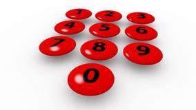 Numeriek toetsenbord Stock Fotografie