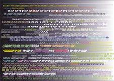 numerieke abstractie Stock Fotografie