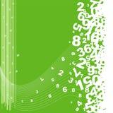 Numerierungshintergrund Stockfoto
