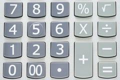 Numerische Auflage Stockfoto