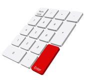 Numerische Tastatur Lizenzfreies Stockbild