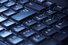 Numerische Tastatur auf dem Computer Lizenzfreie Stockbilder