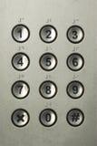 Numerischer Tastaturblock Stockfoto