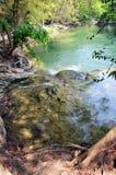Numeriska Tok Chet Sao Noi Waterfall i Saraburi Thailand Royaltyfri Fotografi