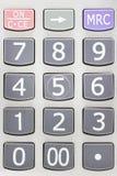 numeriskt block Royaltyfri Fotografi