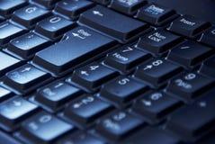 Numeriskt tangentbord på datoren Royaltyfria Bilder