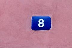 Numero 8 Immagine Stock