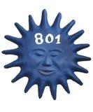 Numero 801 Fotografia Stock