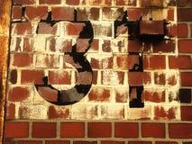 Numero civico 31 Fotografia Stock