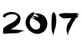 numero dell'inchiostro 2017 Immagine Stock