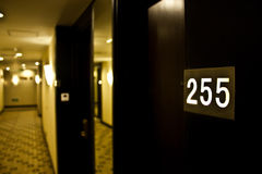 Numero di stanza Fotografia Stock Libera da Diritti