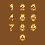Numero dorato royalty illustrazione gratis