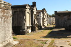 Numero 1 New Orleans del cimitero di Lafayette Fotografie Stock Libere da Diritti
