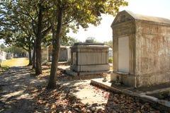 Numero 1 New Orleans del cimitero di Lafayette Fotografia Stock Libera da Diritti