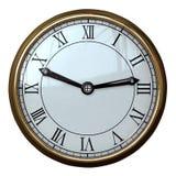 Numero romano dell'orologio semplice fotografie stock libere da diritti