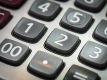 Numero sul calcolatore Fotografia Stock Libera da Diritti