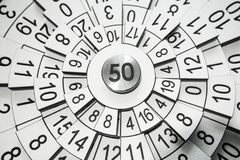 Numerology abstract wallpaper stock photo
