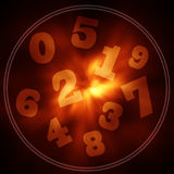 Numerology Royalty Free Stock Photography