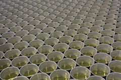 Canned cans stored. Numerous amount of canned cans stored Stock Image
