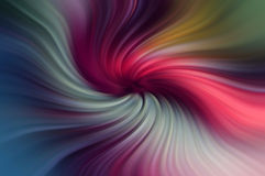 Numerous folds of color that swirl around Stock Photo