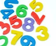 Numerowy język arabski Obraz Stock