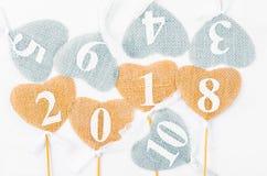 2018 Numerowy pojęcie Obraz Stock