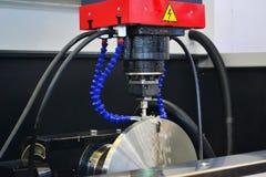 Numerycznej kontrola maszyna Zdjęcie Stock