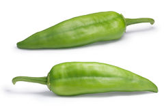 Numex Big Jim green chiles, paths Stock Images