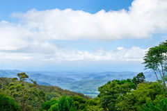 Numinbah Valley Royalty Free Stock Photo