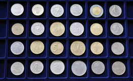 Numismatic Coin Collection Stock Images