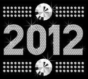 Nummer 2012 van de diamant Stock Foto